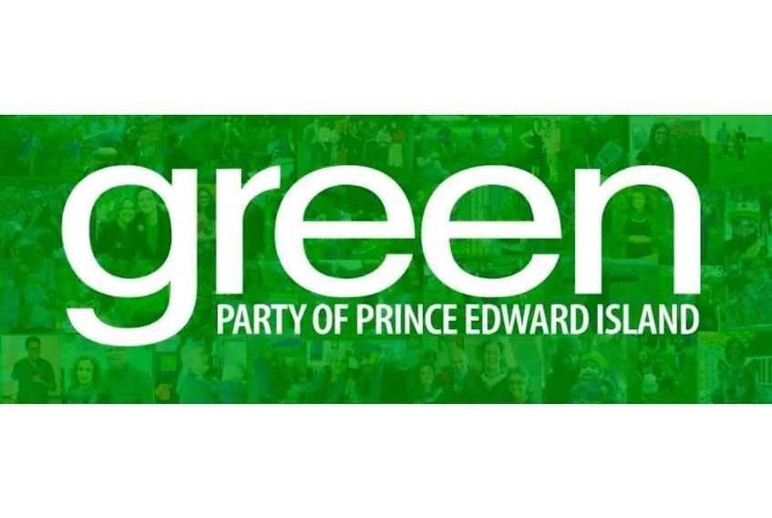 P.E.I. Green Party logo.