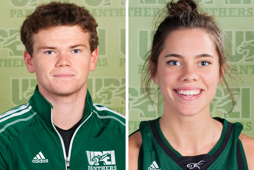 Mark Lloyd and Kiera Rigby are this week's UPEI Panther Subway athletes of the week.
