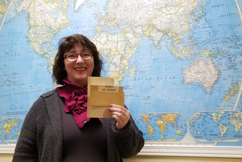 Vivian Beer has been posting First World War letters from Clyde River native Lee Darrach on the community's website, in the lead-up to the 100th anniversary of the armistice.