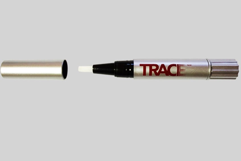The TRACE Pen is a microdot applicator that allows people to mark personal property and identify stolen items. Facebook