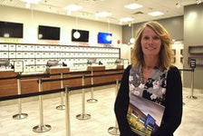 NSLC spokeswoman Beverley Ware offered a media tour this week of the new cannabis centre at the Court Street location in Truro. Sales begin Oct. 17 when federal legislation takes effect to legalize the product.