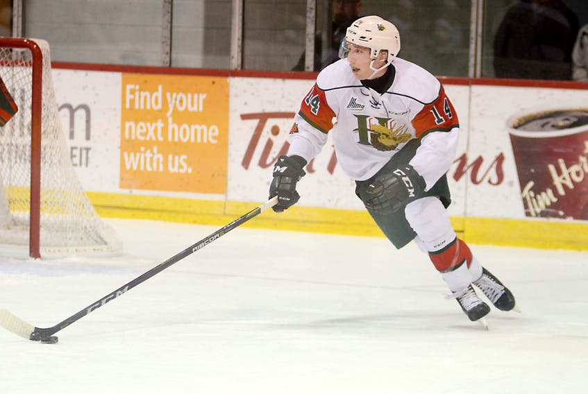 Truro native Jared McIsaac will play in the CHL/NHL Top Prospects game on Jan. 25 in Guelph, Ont. SaltWire Network file photo