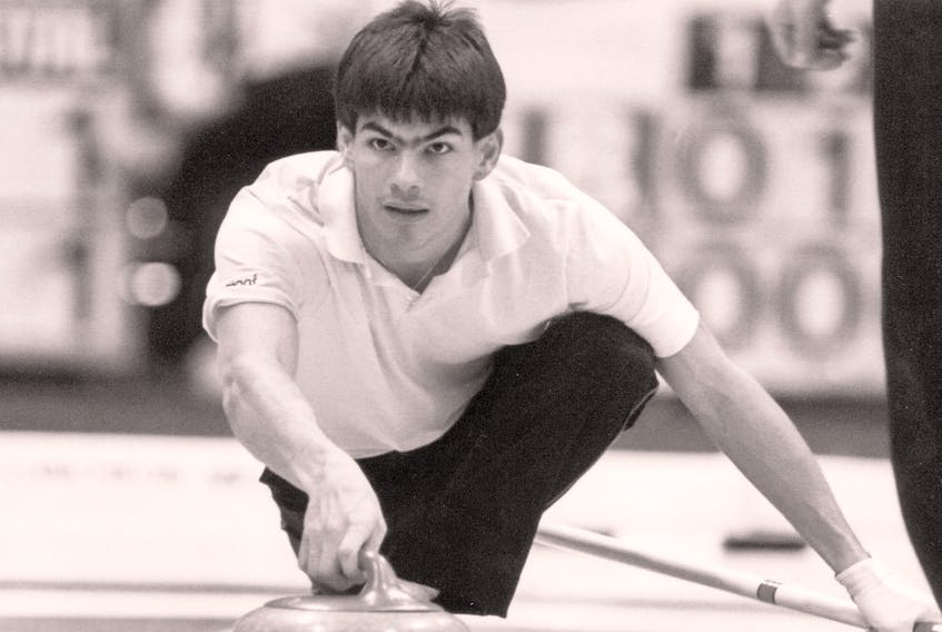 Craig Burgess enjoyed great success in curling at both the junior and men's levels.