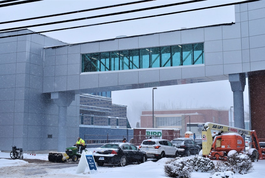 The new pedway constructed at the Nova Scotia Community College Truro campus is likely to become a little bit of a landmark when talking about the school.