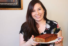 Shannon Crowe enjoys cooking vegan dishes, such as lentil loaf. She has been vegan for three years.