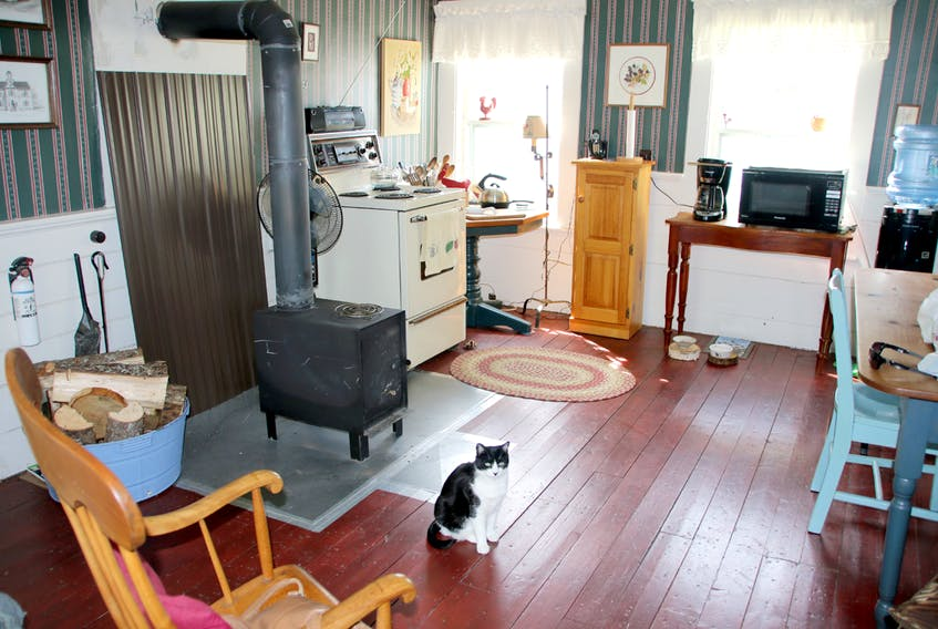 The kitchen of the Elizabeth Bishop House in June 2016. Someone was living in the house at that time. File photo