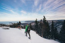 Spend a crisp winter day snowshoeing at Franey Trail in Cape Breton Highlands National Park. - Photo Courtesy Destination Cape Breton Association.
