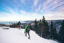 Spend a crisp winter day snowshoeing at Franey Trail in Cape Breton Highlands National Park. - Photo Courtesy Destination Cape Breton Association.