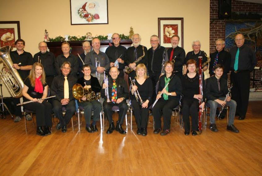 The Sackville Citizens Band will perform at an upcoming fundraiser they're co-hosting with the Sackville Memorial Hospital Auxiliary. PHOTO SUBMITTED