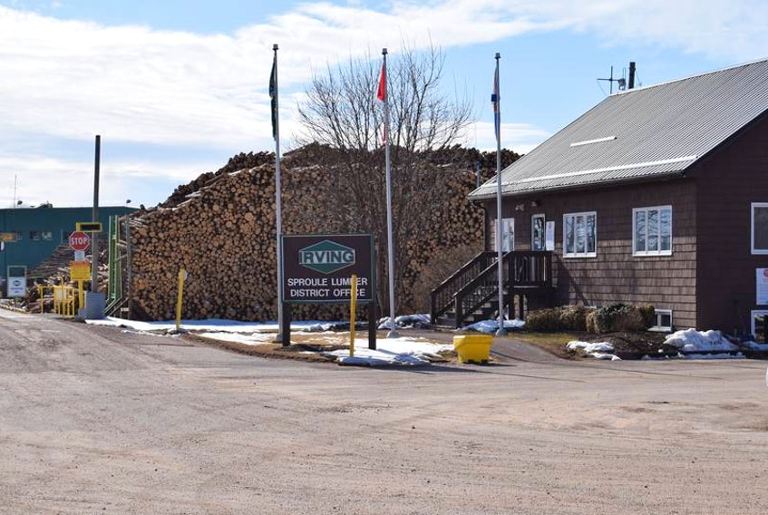 The Irving sawmill in Valley remains in shutdown mode after three employees were diagnosed with COVID-19.