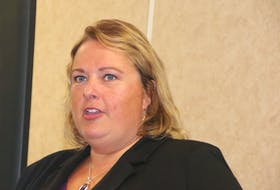 Taxpayers' Ombudsman Sherra Profit spoke at a recent Truro and Colchester Chamber of Commerce gathering.