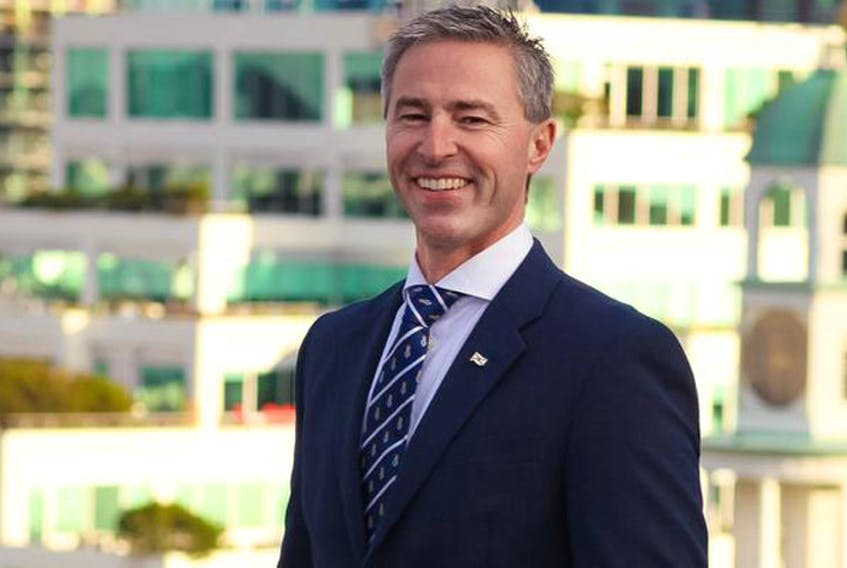 Tim Houston is one of five candidates running to be the next leader of the Nova Scotia Progressive Conservatives.