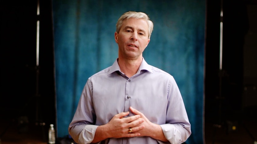 A screenshot of Tim Houston, leader of the Progressive Conservative Party of Nova Scotia, appearing in a television ad that will play on television in the province during the Super Bowl on Sunday. PC Party - Contributed