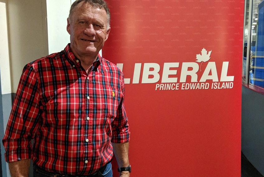 Tommy Kickham won the Liberal nomination for Souris-Elmira on Tuesday night.