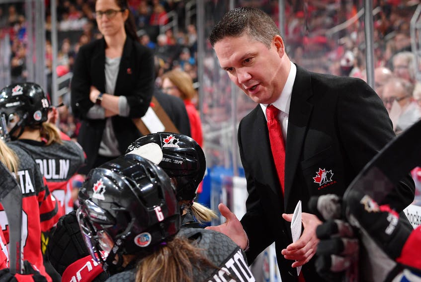 Troy Ryan of Spryfield was named the head coach of Hockey Canada's national women's team on Thursday.