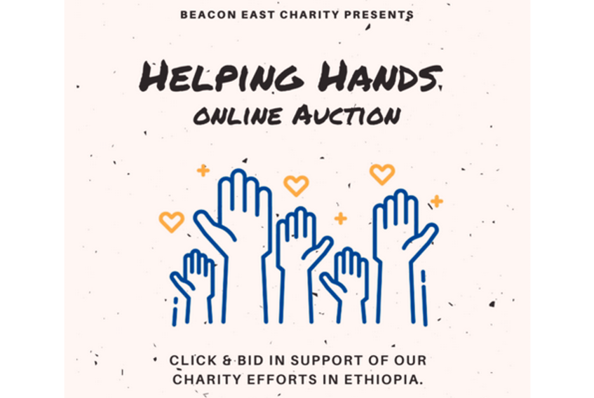 The Beacon East Charity is hosting the Helping Hands Online Auction on its Facebook page.