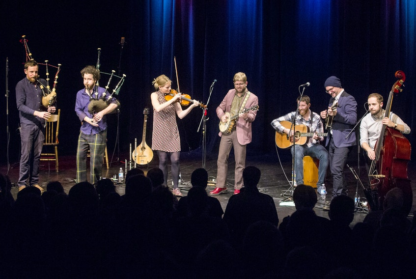 Braebach & Old Man Luedecke were some of the many big-name live music performers seen on stage at Kings Theatre in Annapolis Royal 2019. — Dan Froese