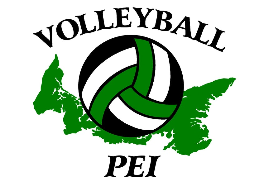Volleyball P.E.I. logo.