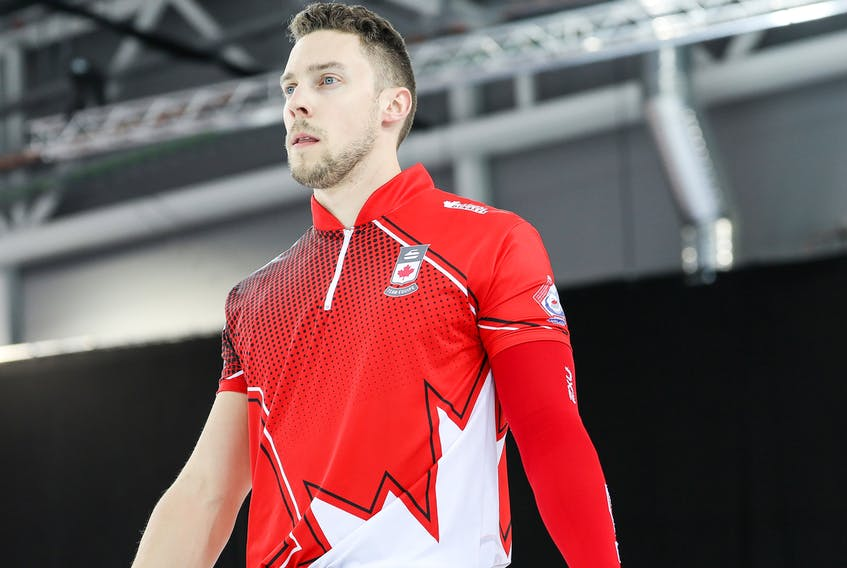 Charlottetown's Brett Gallant is competing at the world mixed doubles competition in Norway. Alina Pavlyuchik/World Curling Federation