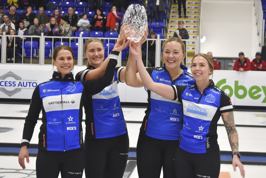 Team Anna Hasselborg of Sweden