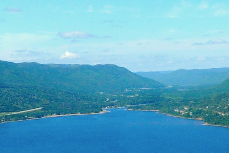 An aerial view of the Humber Valley. - SaltWire Network