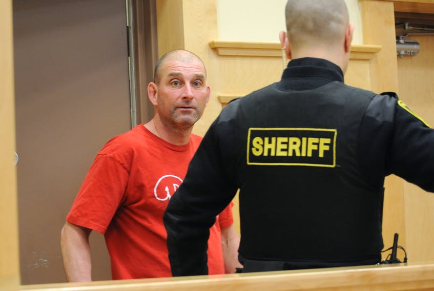 Timothy Russell Sheppard of York Harbour appeared in provincial court in Corner Brook Tuesday afternoon.