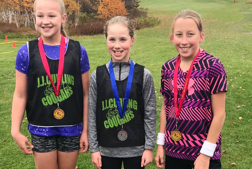 It was a sweep for the west coast at the School Sports Newfoundland and Labrador Cross-Country Grade 6 race held recently at the Gander Golf Club - submitted photo