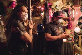 """Wildhood, the new feature film from writer/director Bretten Hannam (Wildfire, North Mountain) is now filming in Windsor. Described as """"a Two Spirit odyssey"""", it stars Phillip Lewitski and Michael Greyeyes in the story of a teenager trying to reconnect with his Mi'kmaw heritage while on the run from his resentful white father. - Riley Smith"""