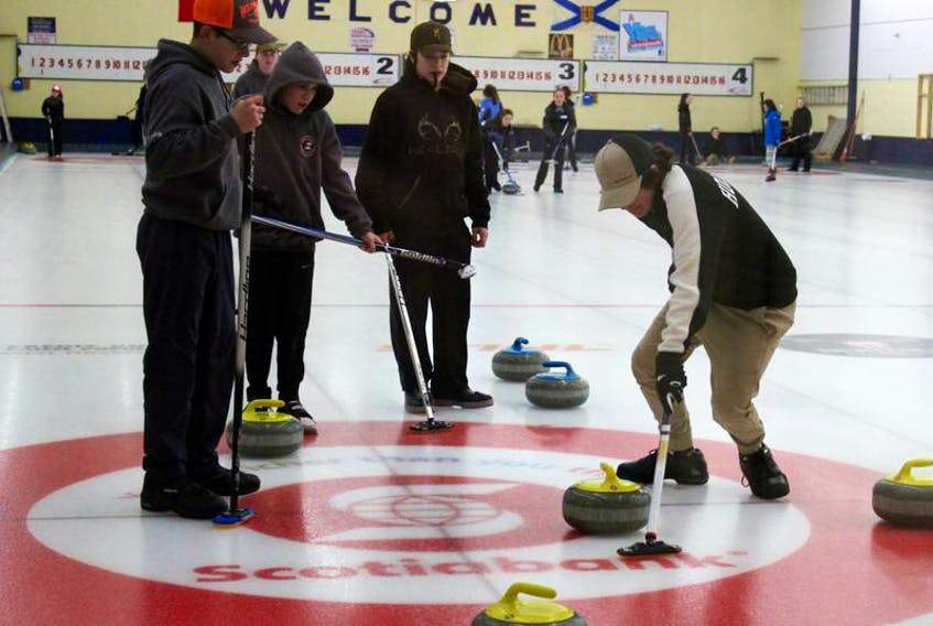 An image from a youth provincial bonspiel held last year in Yarmouth. On the March 6-8 weekend, the Yarmouth Curling Club will play host to the Lighthouse Open Bonspiel. Sixteen teams from the Yarmouth, Clare and Barrington clubs are slated to take part.