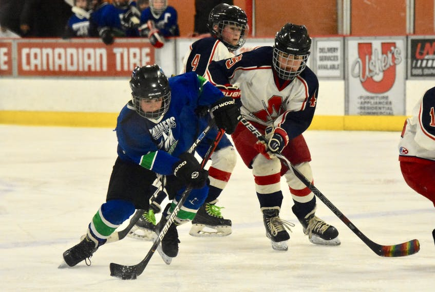 Yarmouth hosted the Scotia Minor Hockey League's Day of Champions. Here is action from local teams on March 7. TINA COMEAU PHOTO