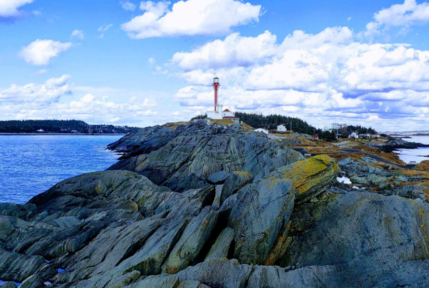The Municipality of Yarmouth will be implementing a six-phase master plan for the Cape Forchu Lighthouse property, as funding permits. Photo from EDM Cape Forchu Comprehensive Master Plan