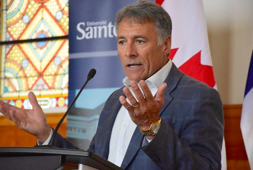 Allister Surette, president and vice-chancellor of Université Sainte-Anne.