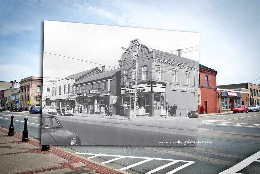 Yarmouth Main Street: now and then. PUCKY WOO PHOTOWORKS