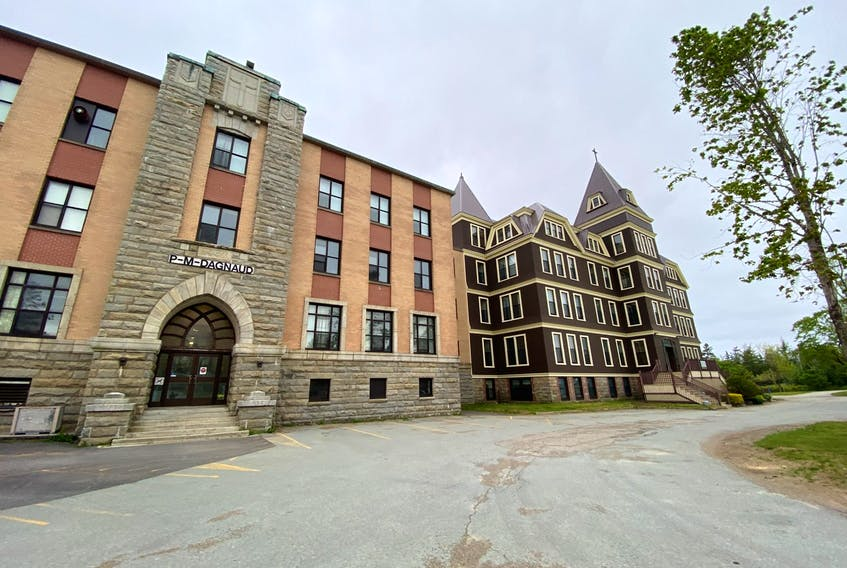 The campus at Université Sainte-Anne in Church Point, Digby County. TINA COMEAU PHOTO