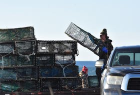 Another batch of lobster traps is delivered to the Saulnierville on Sept. 21 where the Sipekne'katik First Nation is carrying out a self-managed moderate livelihood fishery. TINA COMEAU PHOTO