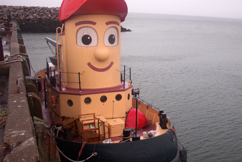 The tugboat replica Theodore Too made a surprise visit to Meteghan on his way home to Halifax after spending the summer in  Saint John, NB. He was towed into port for minor repairs. AMANDA DOUCETTE