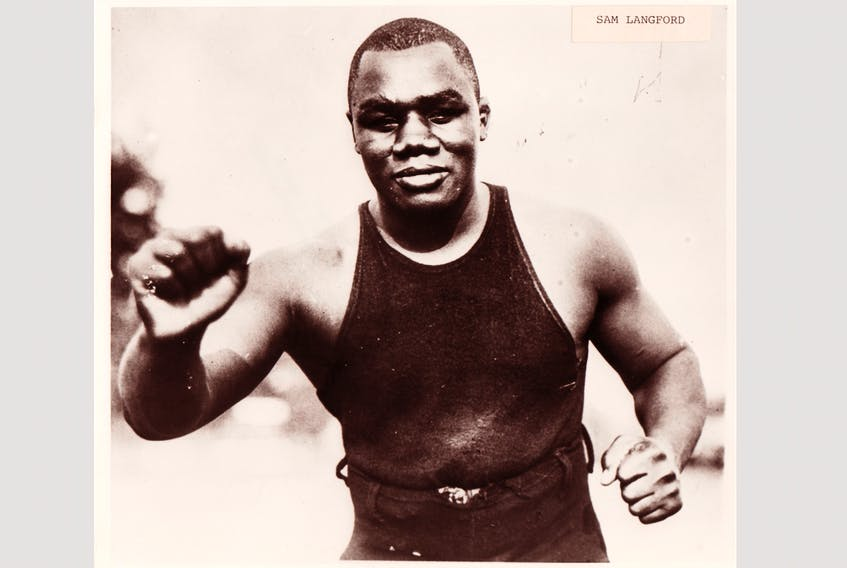 Sam Langford of Weymouth Falls fought 642 fights in his career as a professional boxer. PHOTO: Contributed by Nova Scotia Museum and the Sports Hall of Fame of Nova Scotia