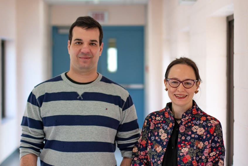 Karine Pedneault and Gustavo Leite will be conducting important research connected with the wine industry in the province.  The work will be performed in a new lab at Université Sainte-Anne, funded with $295,205 from Research Nova Scotia Trust for the project.