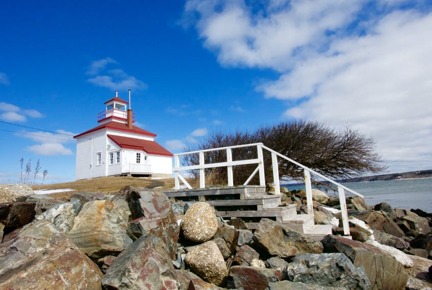 A trip to the Gilbert's Cove Lighthouse in Digby County offers some peace and relaxation, along with beautiful views. TINA COMEAU PHOTO