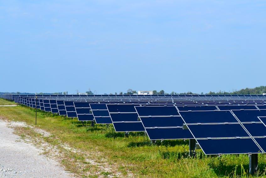 Sarnia Photovoltaic Power Plant near Sarnia, Ont., is Canada's largest solar-powered photovoltaic plant. Southwest Nova Scotia holds similar solar radiation potential.