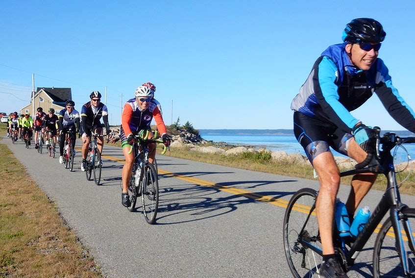 The Gran Fondo Baie Sainte-Marie is the largest cycling event in Atlantic Canada. CONTRIBUTED