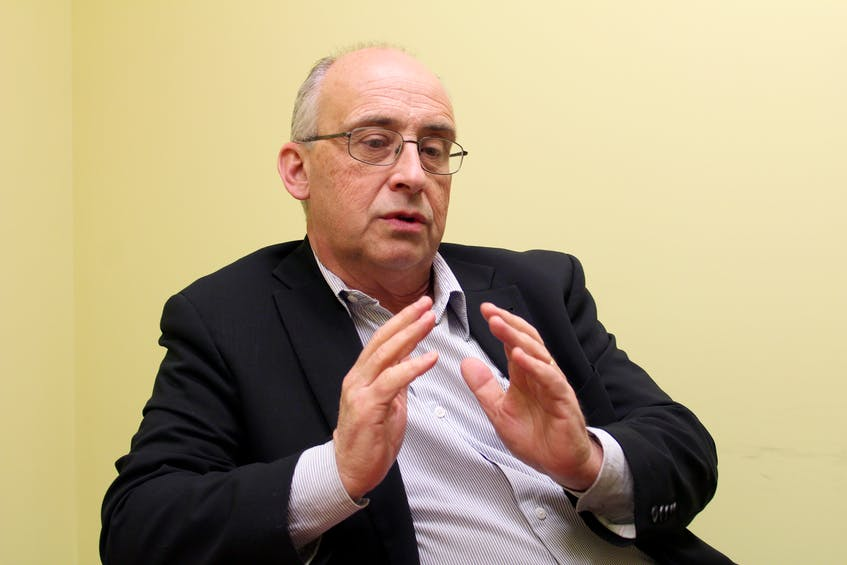 Nova Scotia NDP Leader Gary Burrill, Feb. 13. - Eric Bourque