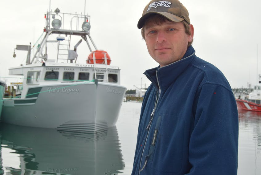Cape Sable Island fisherman Todd Newell's challenge to fellow fishing captains and crew in LFAs 33 and 34 to donate $1,000 to charity and take a dip in the bone-chilling waters of a live well on a lobster boat was a big success.