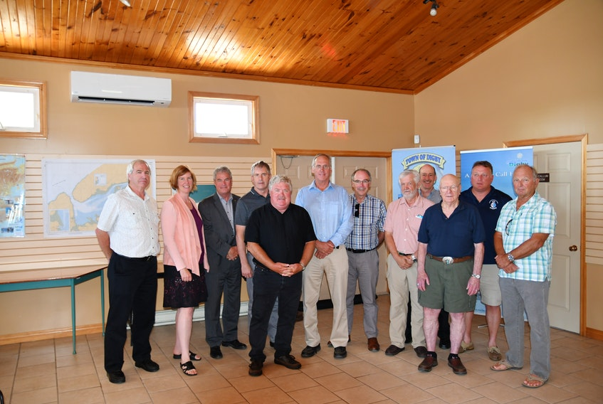 A meeting was held recently in Digby to promote the Centre for Ocean Ventures and Entrepreneurship (COVE) and talk about the Port of Digby.