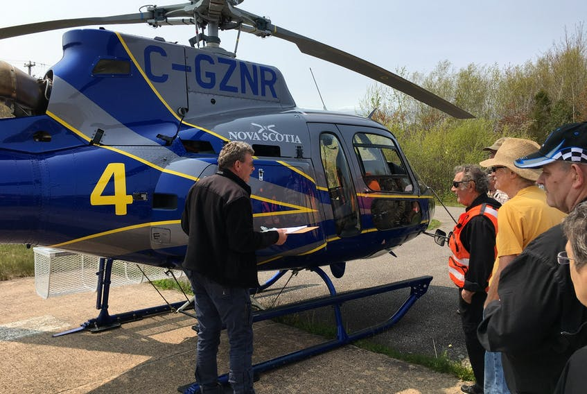 Helicopters are a huge asset and time saver, both for searches and evacuations. Time is especially a critical factor when someone is injured or overexposed to inclement weather. Gabriel Jones photo