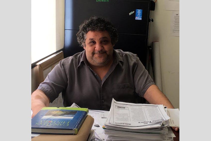 Nessim Hanna is a local teacher at St. Mary's Bay Academy.  ASHALEN McCULLOCH PHOTO