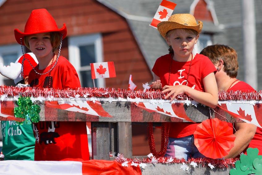 Clark's Harbour Canada Day parade. KATHY JOHNSON PHOTO
