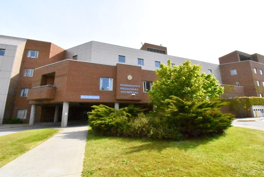 The Yarmouth Regional Hospital.