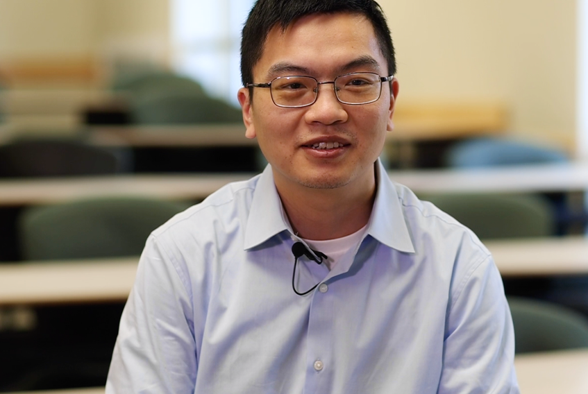 Jan. 19, 2021 - Dr. Chongyin Yang is the Tesla Canada Research Chair at Dalhousie University studying advanced lithium-ion batteries.