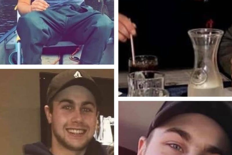 Photos of Zack Lefave shared on social media during the search for him. COURTESY FAMILY - Facebook